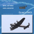 Fly past of Avro Lancaster PA474