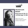 Mozart Piano Concerto No 14 K449 1st mvt Walter Klien