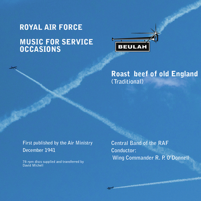 Product picture Roast Beef of old England Central Band of the RAF ODonnell