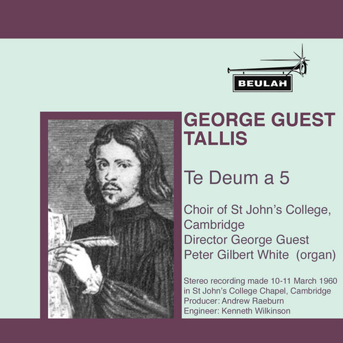 Product picture Tallis Te Deum a 5  St Johns College Cambridge Choir