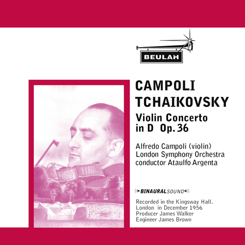 Product picture Tchaikovsky Violin Concerto 2nd 3rd mvts Campoli