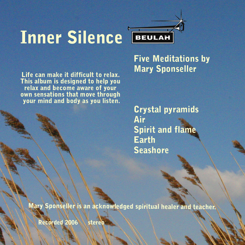 Product picture Inner Silence Meditations by M Sponseller 1 Crystal pyramids