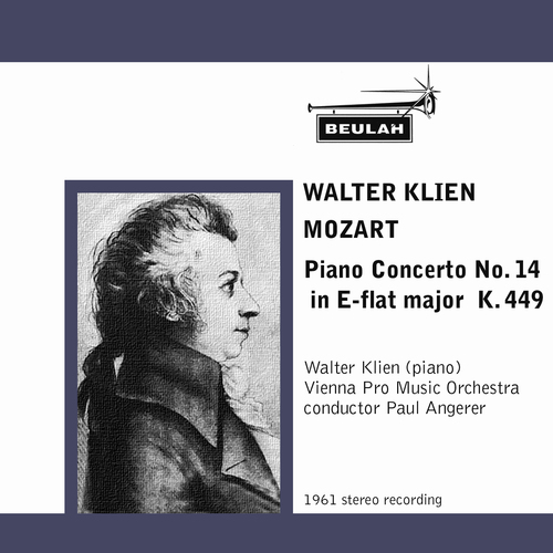 Product picture Mozart Piano Concerto No 14 K449 1st mvt Walter Klien