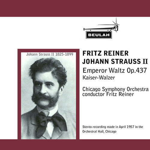 Product picture Strauss Emperor Waltz Chicago SO Reiner