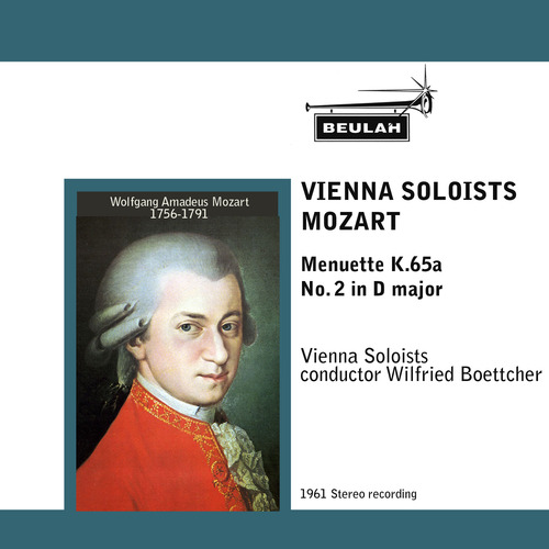 Product picture Mozart Menuette K65a  No 2 in D major Vienna Soloists