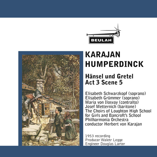 Product picture Humperdinck Hansel und Gretel Act 3 Scene 5 Karajan