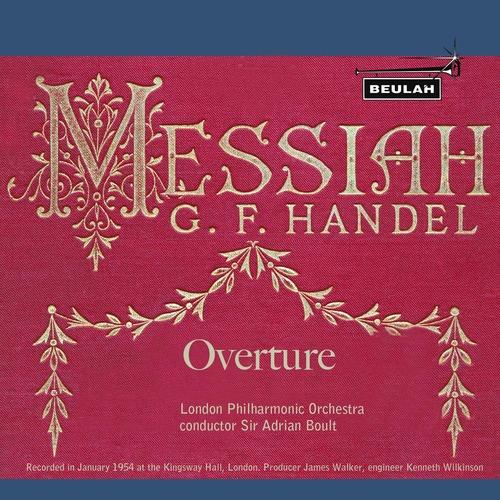 Product picture Handel Messiah Overture LPO Boult