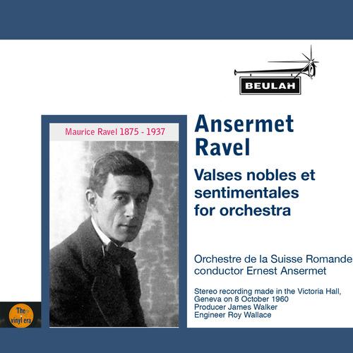 Product picture Ravel Valses nobles et sentimentales Ansermet OSR