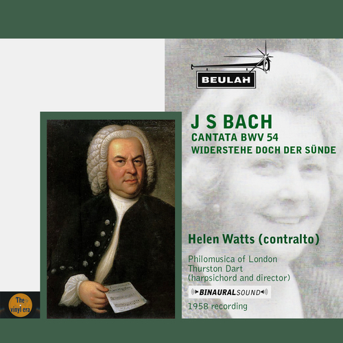 Product picture Bach Cantata BWV 54 Helen Watts