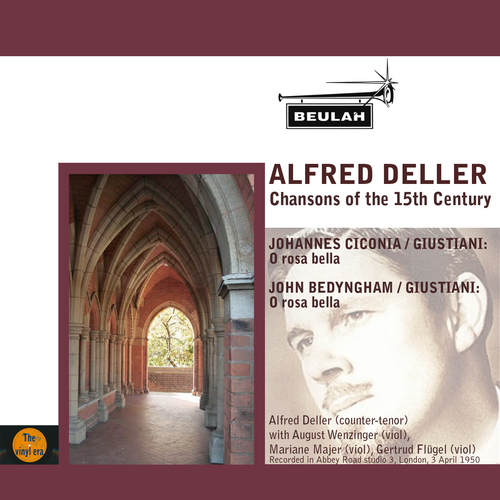 Product picture 15th Century Chansons Alfred Deller