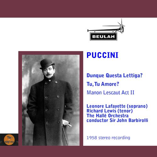 Product picture Puccini Manon Lescaut Act 2  Dunque Questa Lafayette Lewis