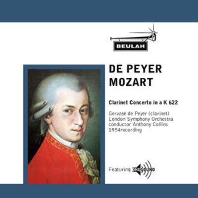 Product picture Mozart Clarinet Concerto in a K622 1st mvt  Gervase de Peyer