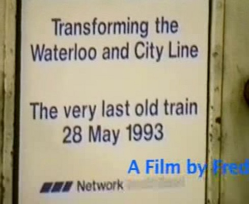 Product picture Waterloo and City 28 May 1993 a film by Fred IVey